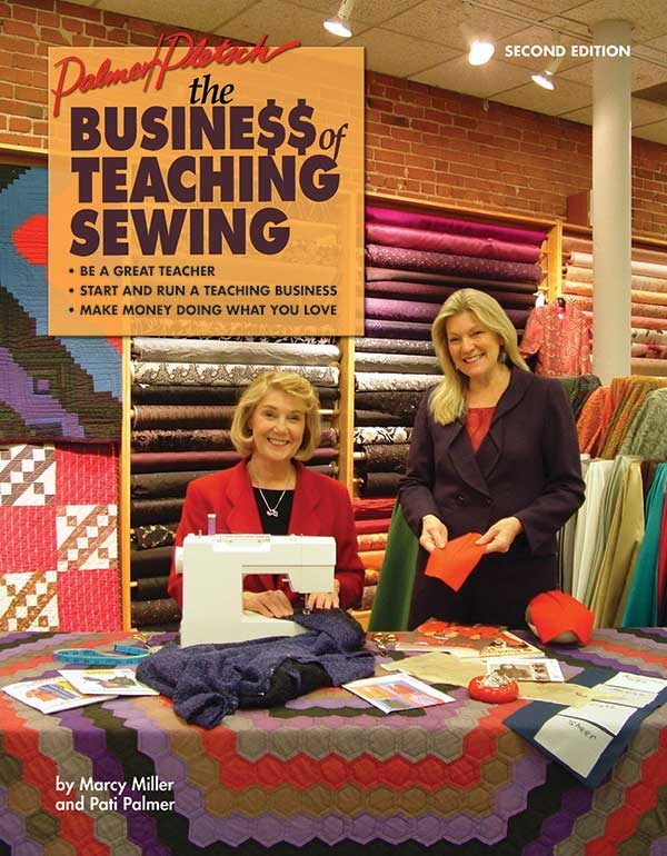 The Business of Teaching Sewing book