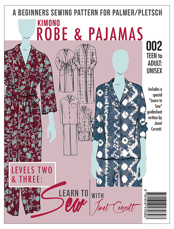 Learn to Sew Robe and Pajama pattern