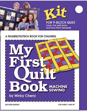 My First Quilt Book kit