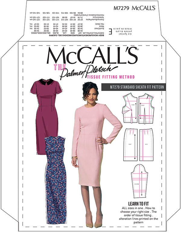 McCall\'s 7279 Sheath Fit Pattern