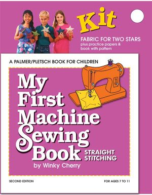 My First Machine Sewing Book kit