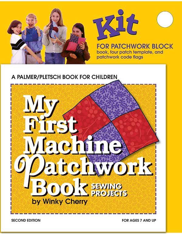 My First Machine Patchwork Book kit