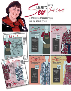 Learn to Sew complete program with patterns and DVDs