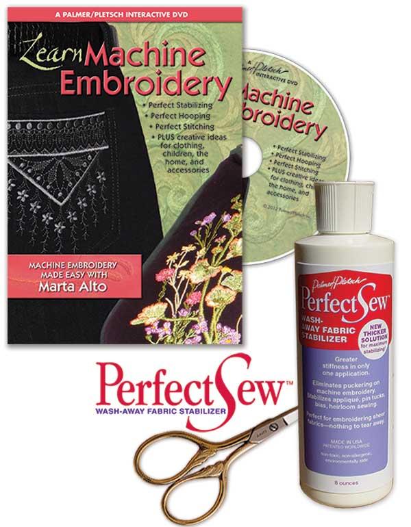 Marta's Machine Embroidery Essentials
