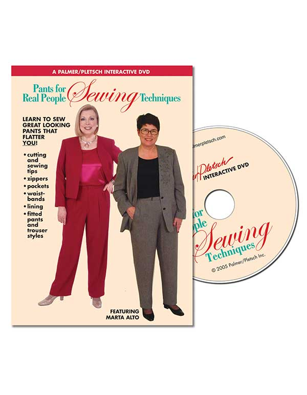 PANTS FOR REAL PEOPLE SEWING TECHNIQUES DVD Video