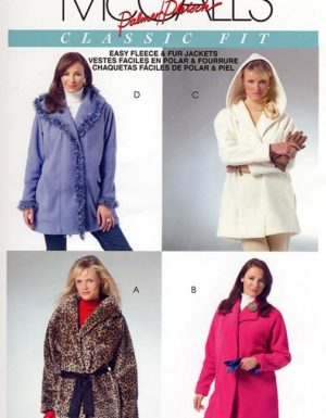 MCCALL'S 4975 PATTERN EASY RAGLAN JACKET