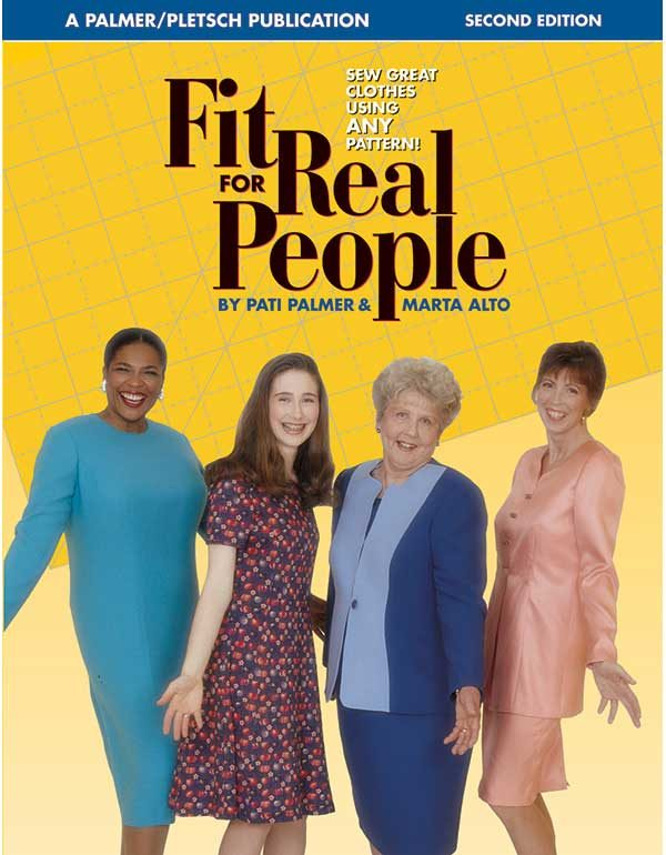 FIT FOR REAL PEOPLE - Sewing Books