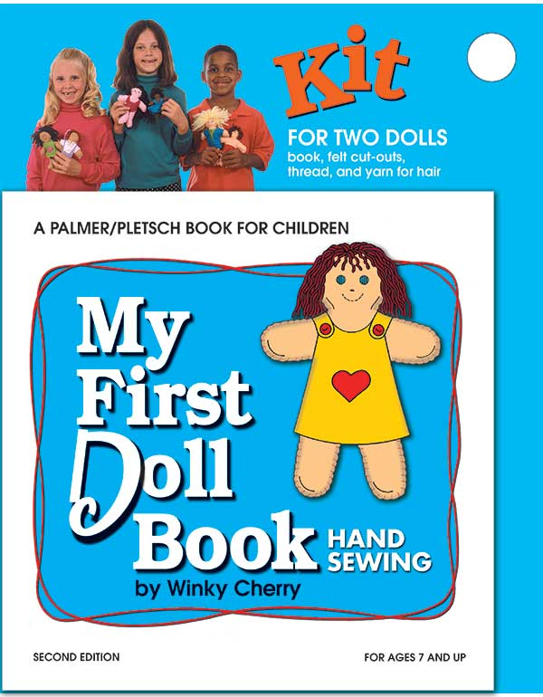 MY FIRST DOLL BOOK with KIT - Teach Children to Sew
