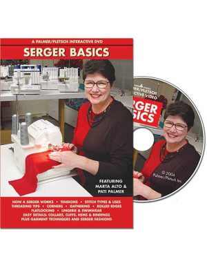 SERGER BASICS DVD - Sewing Videos