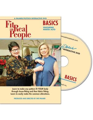 FIT FOR REAL PEOPLE BASICS DVD Video Sewing