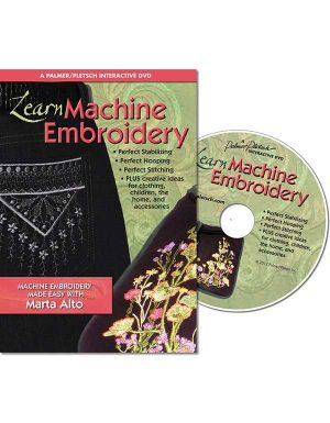 LEARN MACHINE EMBROIDERY DVD Video