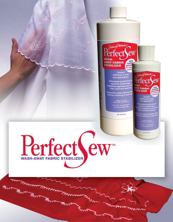 Perfectsew Liquid Wash Away Fabric Stabilizer