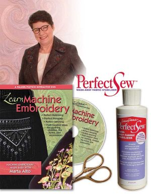 MARTA'S MACHINE EMBROIDERY ESSENTIALS