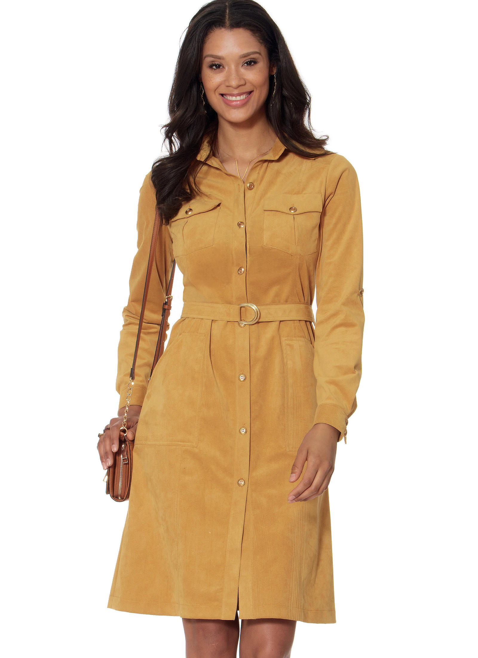 Mccall 39 S 7470 Misses Shirt Dresses And Belt