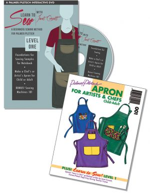 Learn to Sew With Janet Corzatt Level One DVD plus Apron Pattern
