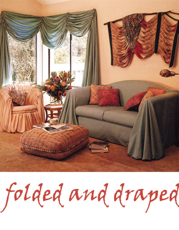 folded and draped project from Creative Serging for the Home