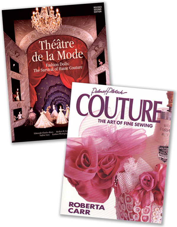 Théâtre de la Mode and Couture books