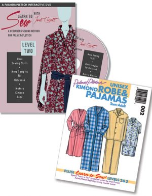 Janet Corzatt''s Learn to Sew Level Two plus Learn-to-Sew Robe & Pajama Pattern