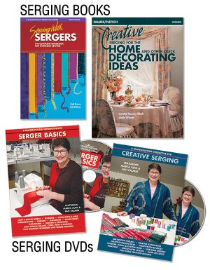 Serger books and DVDs from Paler/Pletsch
