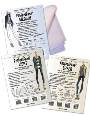 Interfacing Starter Kit: PerfectFuse Sheet, Light, and Medium