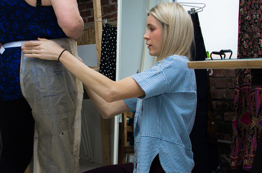 Brooklyn 2-day pant fitting intensive sewing workshop