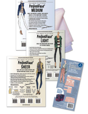 PerffectFuse Interfacing Stock-Up Kit with Perfect Waistbands Non-Roll Interfacing