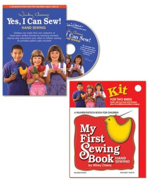 "My First Sewing Book Kit and ""Yes, I Can Sew!"" DVD"