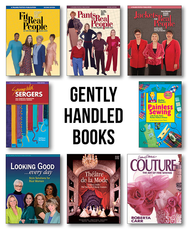 gently handled Palmer/Pletsch books returned from bookstores