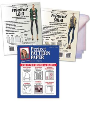 Sheer and Light PerfectFuse Interfacing plus Perfect Pattern Paper