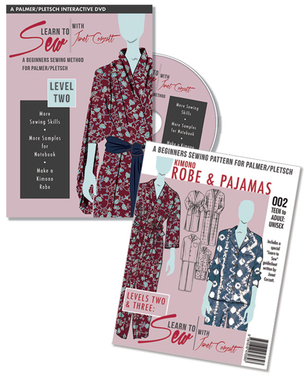 Learn to Sew Level 2 plus robe pattern