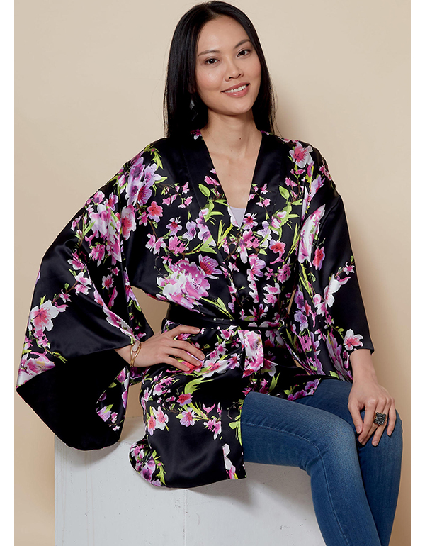 bb513c4dfc04 McCall's 7790 Misses' Kimono Jacket and Belt