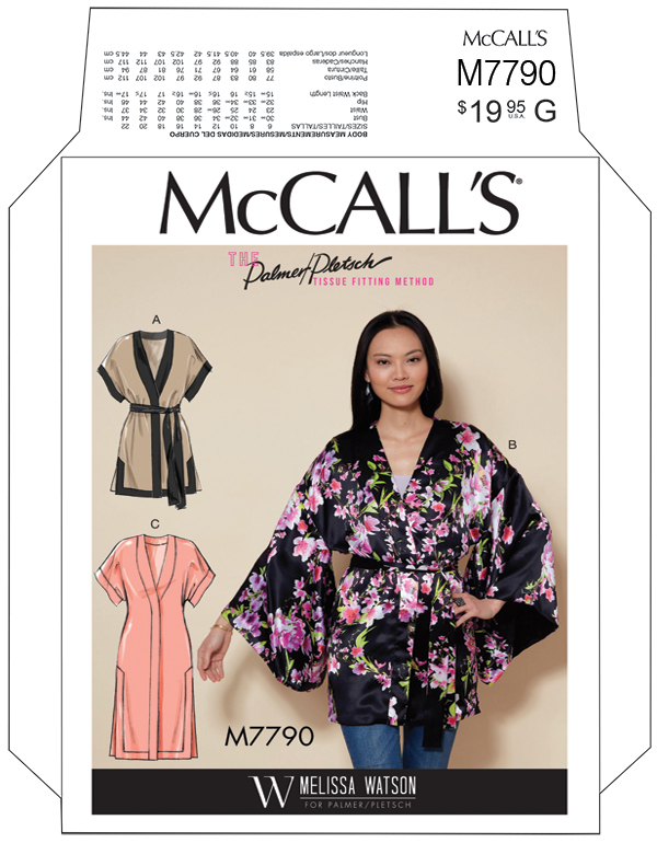 Image result for mccalls kimono pattern